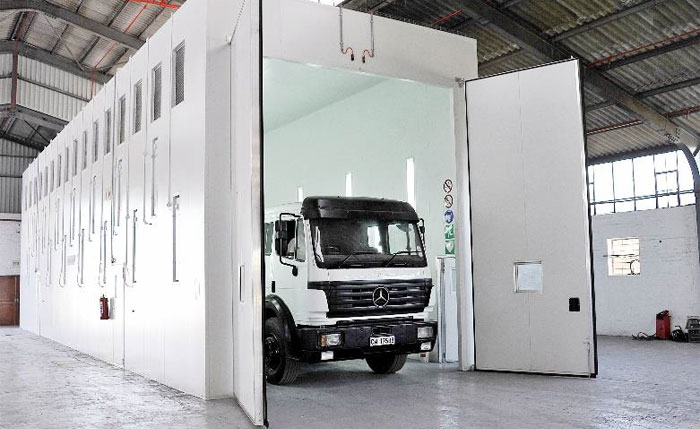 20m State of the Art Spray Booth AAD Parow